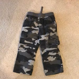 2t gray camp pants. New with tags.